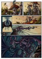 Comic page 2 finished by bearcavestudios