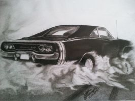 Dodge Charger R/T 1968 by JakubQaazAdamski