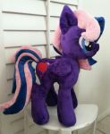 My little Pony Plushie Commission SCARLETT  OC by CINNAMON-STITCH
