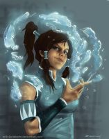 Korra by wolflover323