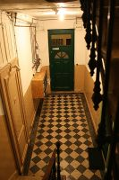 hall way old building france by archibald-butler