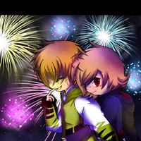 RS: Festival main event [Fireworks ] by Pikachim-Michi