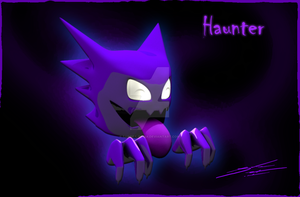 Haunter 3D by Sandra-Soria