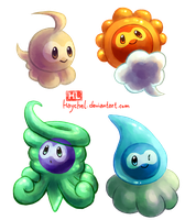 Castforms by Haychel