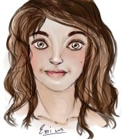 Realistic portrait practise by iAmTheForcex3