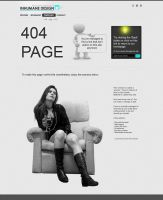 Inhumane Design 404 page by bziel