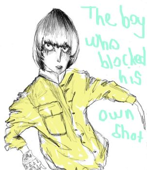 the boy who blocked his own by CanOker