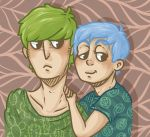 ask pastelJohn and Macca by undeadpotato
