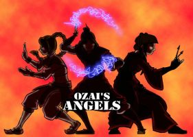 Ozai's Angels by DeFemme