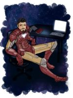 Iron Man by halo91