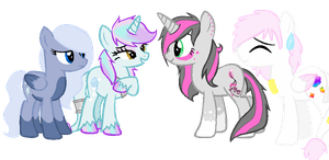 A new Group Of OC's by AnaXHedgecat