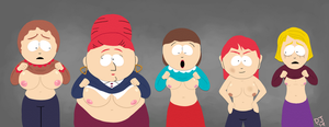 BEEEEWBS of South Park by dustindemon