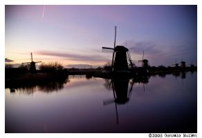 Dreamy Kinderdijk by gONZOm