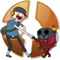Adventure Time Team Frotress 2 icon by tauts05