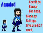 Aqualad Sprite by Raded-Raikage