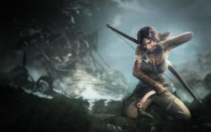 Tomb Raider (Wallpaper) by marblegallery7