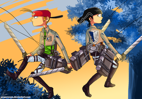 Kevedd : Attack on Titan x KevEdd by spogunasya