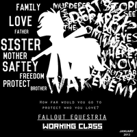 Fo:E : Working Class. Poster/Cover. by DarcySupremest