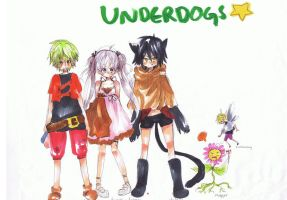 Underdogs HELLYEAH by FishHeadThe3rdAndCo