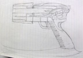 EclipseRunner's gun concept by WindyRen