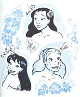 Hawaiian girls by jackfreak1994