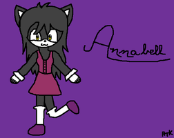New Oc Annabell by Ayleia-The-Kitty
