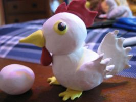 Clay Cucco from The Legend of Zelda by Demetrax1