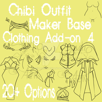 Waitess Clothes Pack Submission 4 by Aelliana