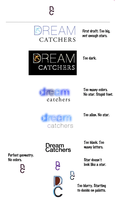 DreamCatchers logo process by mannicken