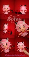 chibi Mew Ichigo plush version by Momoiro-Botan