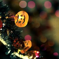 pumpkins n' bokeh by TrishaMonsterr