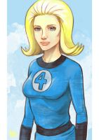 Daily Sketches Invisible Woman by fedde