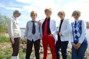 APH: The Boygroup Nordics Five by Shiho-Sherry