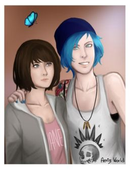 Max y Chloe by Aeriz-World