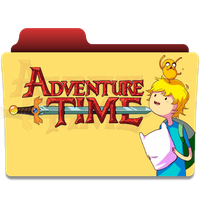 Adventure Time Folder Icon by Neal2k