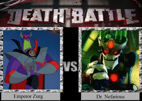 Death Battle 23: Maniacal Mechanical Masterminds! by HailfirePhantom