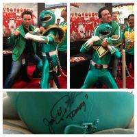 MMPR Green Ranger: The Legend by effektdmentality