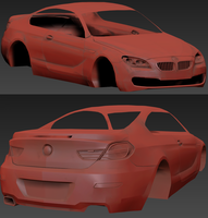BMW 6 Series WIP Clay by PR1VACY
