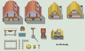 Comission FARMLAND's TILESET by WesleyFG