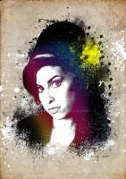 Amy Winehouse by ianwilgaus