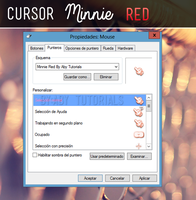Minnie Red - CURSOR by ForeverYoung320