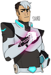 Voltron: Shiro by Anonymous-Nerdling