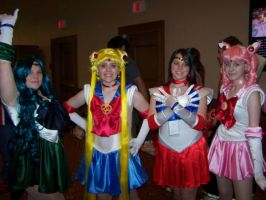AKON 18 - Sailor Scouts by HikaruChan4ever