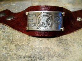 Hunger Games Cuff by Peaceofshine