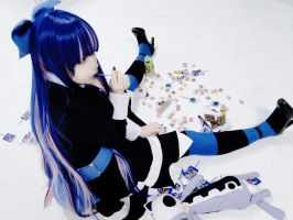 Stocking Cosplay V by nedzelortsac