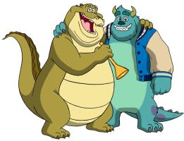 Best Buds Louis and Sulley by BenJJedi