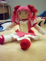 Madoka Magica plush by dollphinwing