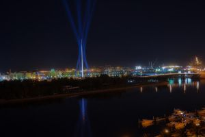 Sharjah night lights II by MaithaNeyadi