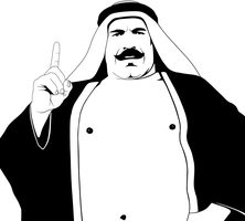 Iron Sheik Vector by timdallinger