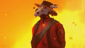 SFM Poster: The Innocent Pyro by PatrickJr